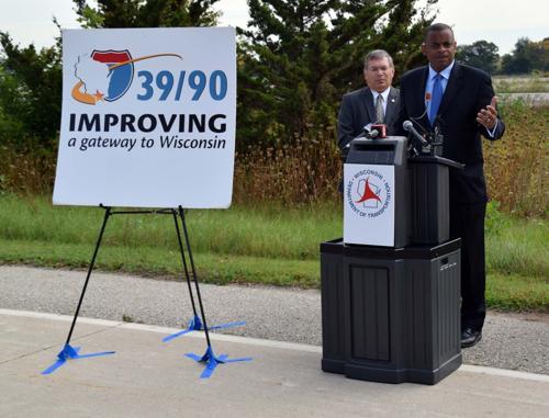 USDOT secretary calls for infrastructure funding at Milton visit