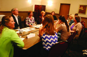 School and business leaders gather to gauge job market