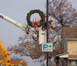Decorating the city