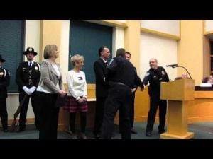 Sun Prairie Police Department Awards -- Feb. 18, 2014