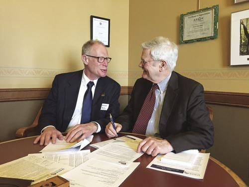 Mayor Esser participates in League's 'Lobby Day'
