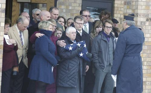 Legion, Police salute former chief