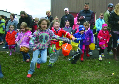 Rotary hosts Easter Egg Hunt
