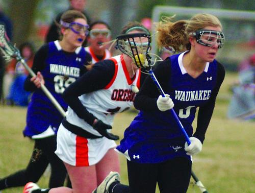 Girls lacrosse starts with wins