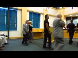 Sun Prairie City Council meeting -- 9-2-2014 -- Officer swearing-in