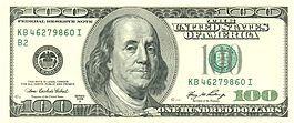 Counterfeit $100 bills found locally