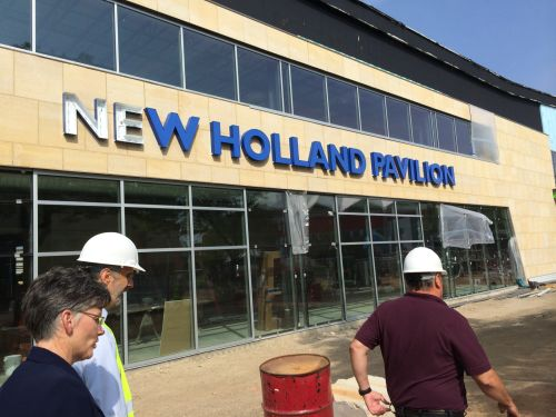 New Holland Pavilions unveiled
