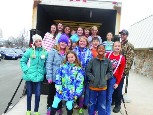 Annual food drives wrap up for Sun Prairie schools