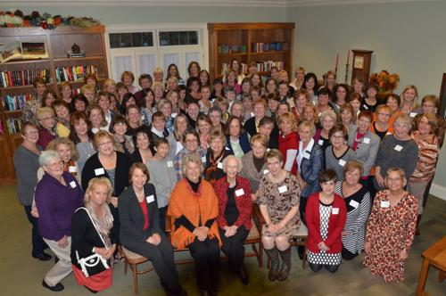 148 women kick off library project