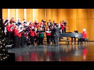 "Sun Prairie Area Chorus sings ""Jesus Christ the Apple Tree"""