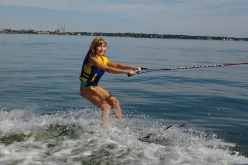 Ski team offers water skiing lessons at Clean Lakes Festival