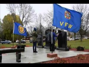 Veterans Day 2014 in Milton, Wis.