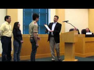 Mayor Murray presents final Eagle Scout proclamation -- 4-15-2014