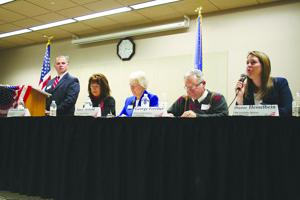 Area pols stump for support at DeForest forum