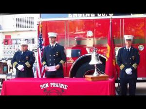 9/11 Ceremony at Sun Prairie Fire Department Station #1 -- 9-11-2016