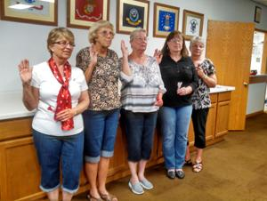 American Legion Auxiliary officers