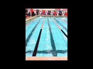 Spartans' Harrington swims 100 butterfly