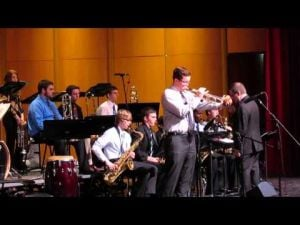 Sun Prairie Jazz Fest -- SPHS Jazz I -- Two of 3 videos -- February 15, 2014