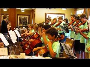 Sun Prairie Fiddle Camp at The Lighthouse -- 7-30-2015