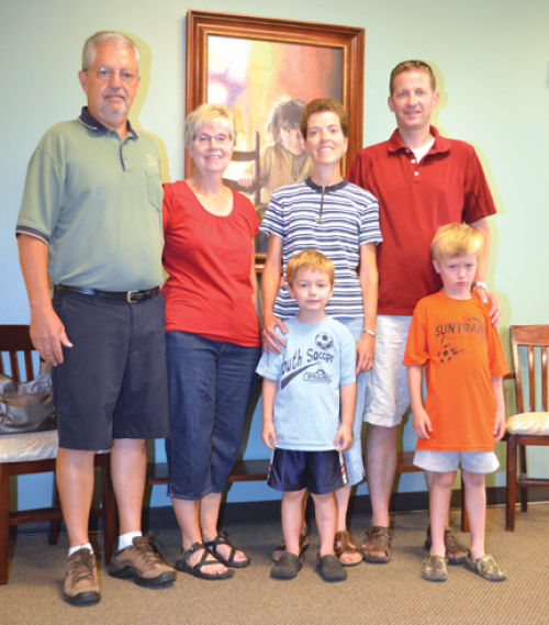 Rupp, Kohl families find treasure hunt medallion