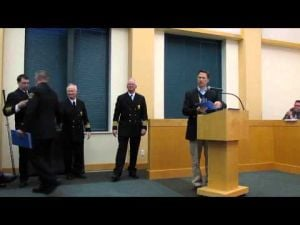 Sun Prairie Volunteer Fire Department Awards -- 3-18-2014