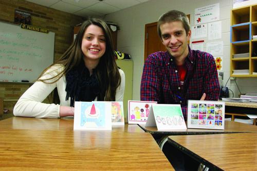 Sun Prairie DECA student sells cards