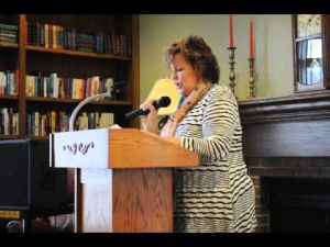 Jacquelyn Mitchard at The Gathering Place
