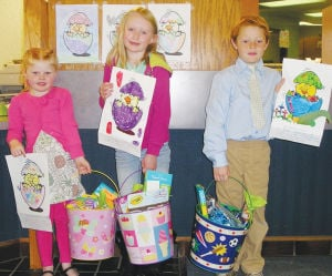 Bank of Deerfield 2014 Easter Coloring Contest Winners