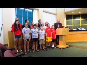 Sun Prairie City Council -- Piranhas Proclamation -- 8-4-2015