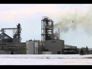 Fire at United Ethanol - Jan. 12, 2014