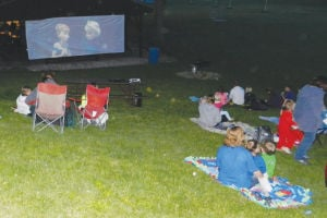 Movie in Ripley Park