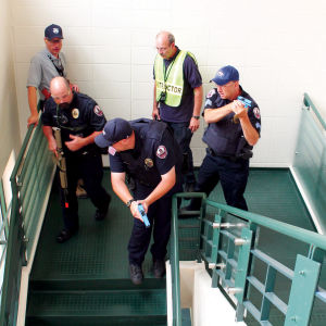 Securing the stairwell
