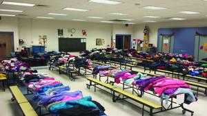 Windsor Elementary clothing drive kicks off giving season