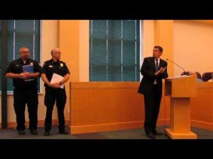 Sun Prairie City Council June 17, 2014 meeting -- City employee recognition awards