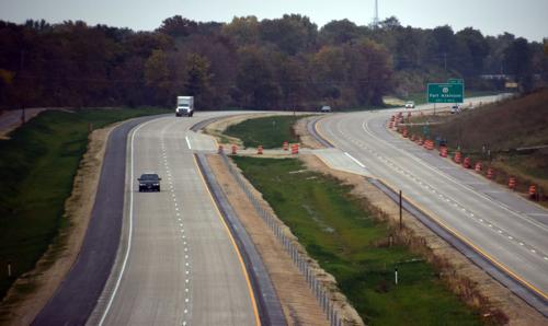 Highway 26 opens to four lanes to Fort