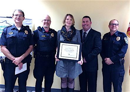 Sun Prairie Police Officer Michelle Wilson wins statewide award