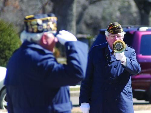 Legion salutes Richter at Resurrection Cemetary