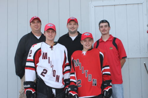MHS boys hockey unveils unis
