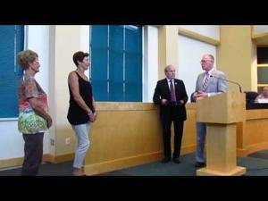 Sun Prairie Election Workers honored -- Aug. 2, 2016