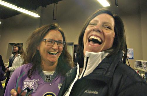Warrior hockey continues fight against Pancreatic cancer