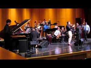 Sun Prairie Jazz Fest -- SPHS Jazz I -- One of 3 videos -- February 15, 2014