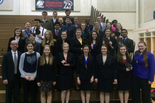 High school Forensics Team finishes as state runner-up