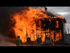 DeForest Area Fire/EMS Fire Training On Saturday, Nov. 9 -- Old Haswell House