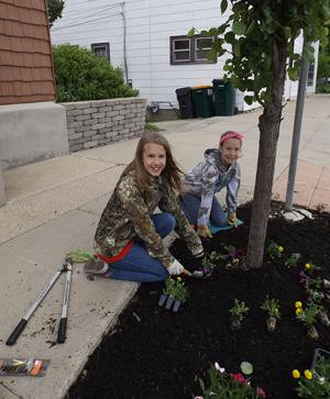 Beautifying the downtown