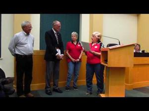 Sun Prairie City Council -- Appreciation Award -- 10-18-2016