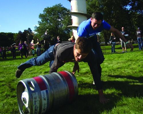 Keg Race dive