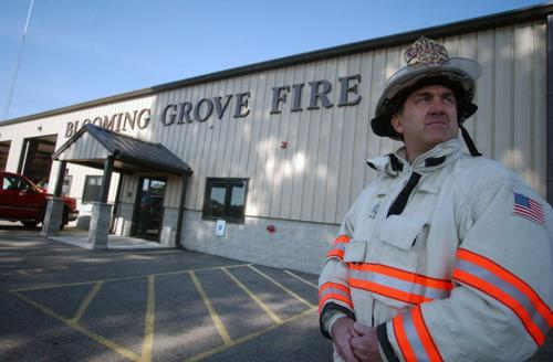 Saying goodbye to Blooming Grove Fire