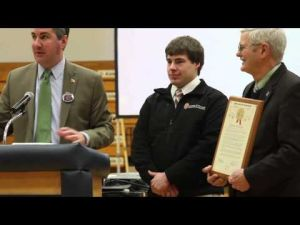 Drew Birrenkott Day - Rhodes Scholar Recognition and Celebration Assembly - Video 2