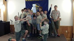 Windsor Scout Troop #155 Attended Summer Camp Recently