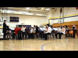 DAHS Winter Band Concert 2013 (December 5) Video 1